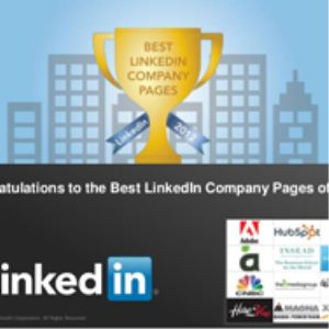 LinkedIn Best Pages 2012