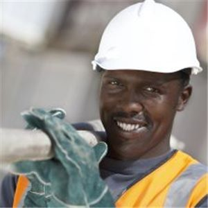A generic picture of a mine worker