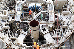 "A special Tunnel Boring Machine (TBM) nicknamed ""Alice"""
