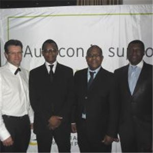 Aurecon employees at the PACF