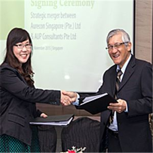 Aurecon signs deal with AUP in Singapore