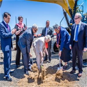 Otahuhu Station Sod Turning Ceremony
