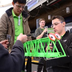 Aurecon Bridge Building Competition 2016