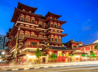 Buddha Tooth Relic Temple - BEFORE