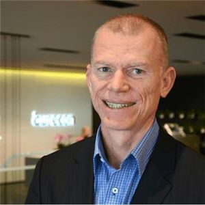 Chief Information Officer at Aurecon,  Carl Duckinson