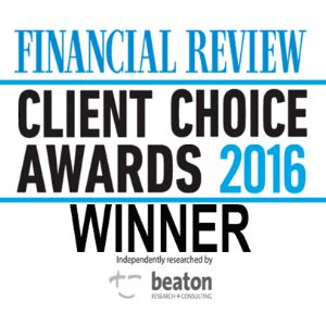 Client Choice Awards 2016 Winner