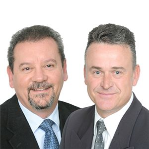 Ermis Marques (L) and Paul Lombard (R)