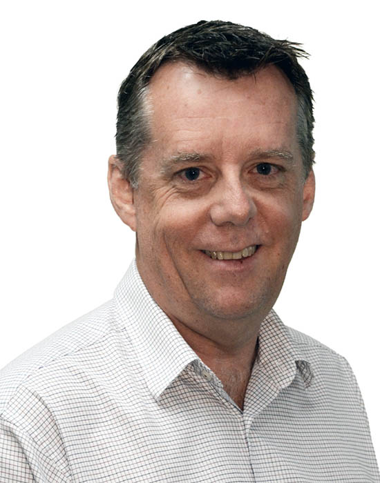 Gary Fisher, Unit Manager – Transport Services, Middle East