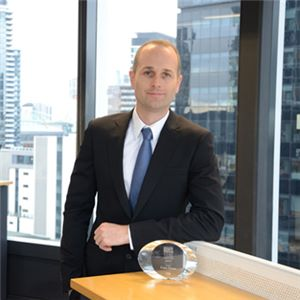 Liam Hayes wins Australian Financial Review BOSS magazine's 'Young Executives of the year' award