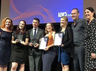 Batemans Bay Bridge Replacement Project won the Infrastructure Engagement Award at the IAP2 Conference 2018