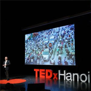 Aurecon's Dr Kourosh Kayvani delivered a TedX talk in Hanoi calling for more fearless, human-centred engineers to help fix humanity's 'wicked problems'.