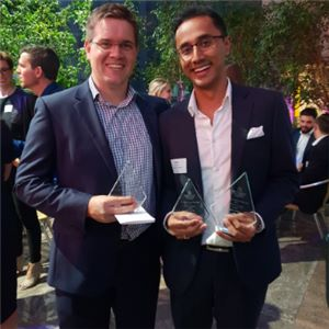 Two of Aurecon's emerging leaders have been recognised as Future Leaders by the Property Council of Australia