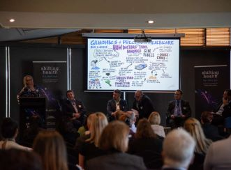"""I was delighted to have been asked again to facilitate Shifting Health by Design. A full-house attended the day, which shows the appetite for considering new ideas,"" Aurecon's Pearn said."