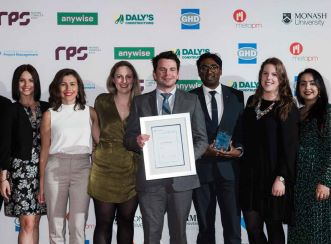 Liam Utri – Senior Consultant, Program Advisory won Young Project Manager for Victoria