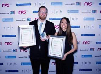 Aaron Littlefair – Senior Consultant, Program Advisory and Esther Parker – Consultant, Program Advisory were also recognised by AIPM for Western Australia