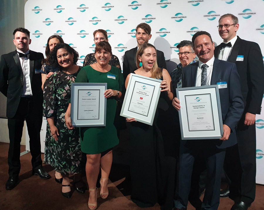 Aurecon has been recognised for the fifth consecutive year for the calibre of its people and outstanding work