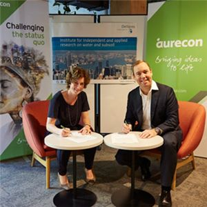 Aurecon has signed a Memorandum of Understanding (MoU) with Deltares