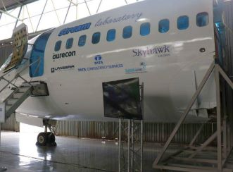 Aurecon funded the structure on which the aircraft laboratory stands