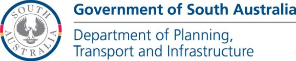 Government of South Australia - Department of Planning, Transport and Infrastructure logo
