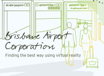 Aurecon delivers a virtual reality experience for Brisbane Airport.