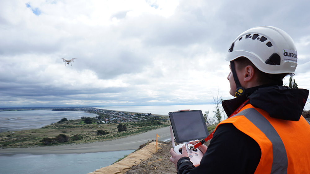 Flying an unmanned aerial vehicle (UAV), the team collected 1000s of photographs and through photogrammetry, created 3D models.