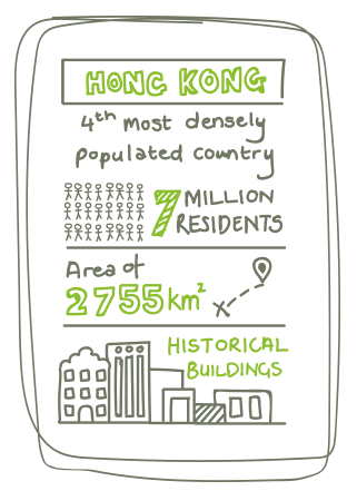 As Hong Kong's population grows, the scarcity of land poses challenges for transport and city planners alike.