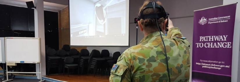 Aurecon's innovative approach to stakeholder engagement included a glimpse into the future using virtual reality modeling. Image courtesy of Department of Defence, Australia.