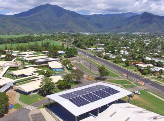 The Advancing Clean Energy Schools Program in Queensland will reduce energy costs for a significant number of state schools. Image courtesy of Downer.