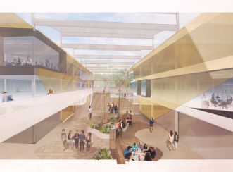 The three-storey school will built with a science, technology, engineering and maths (STEM) focused design