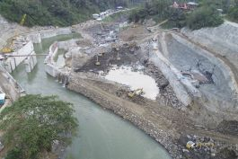 Malea hydroelectric power plant is located in South Sulawesi, Indonesia, owned by PT Malea Energy.