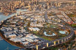 Studio Magnified delivered a video and imagery to describe the strategic importance and on-ground experience of a new part of central Melbourne. Image courtesy of Studio Magnified (acq. by Aurecon 2018).