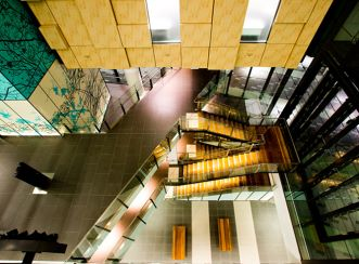 Gold Coast University Hospital - Looking down