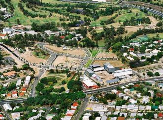The village infrastructure at Kelvin Grove sets new environmental and sustainable design benchmarks.
