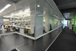 Laboratory view of the Walter and Eliza Hall Institute of Medical Research