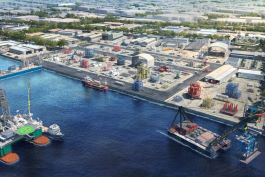 Artist's impression of Offshore Marine Centre 2. Photo credit: JTC Corporation