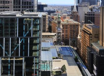 5 Martin Place, Australia: Eastern view.