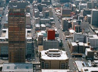 ABSA Towers North - Aerial