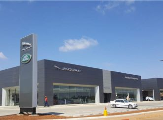 Aurecon provided civil, structural and fire engineering services to bring this state-of-the-art Jaguar Land Rover Dealership structure to life