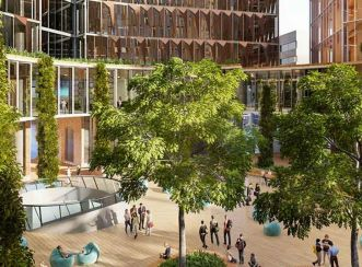 Aurecon as the sustainability consultants provide advice on the environmentally-sustainable design elements for the Melbourne School of Engineering.
