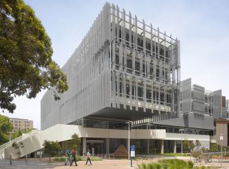 The Melbourne School of Design is a state-of-the-art educational building at Australia's highest ranked university, The University of Melbourne.