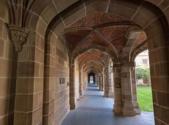 The Old Quad was built in classic Tudor Style and has witnessed the University of Melbourne