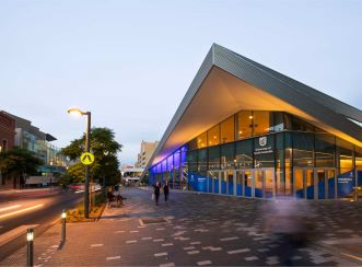 Aurecon's engineering design supported the internal and external architectural intent of Pridham Hall