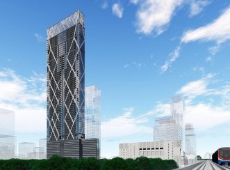 The spectacular Soonthareeya Ratchadamri development in downtown Bangkok will be one of the top five slimmest buildings in the world when completed. Images courtesy of Areeya Property PLC & Palmer and Turner (Thailand).