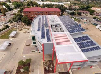 Vodacom Head Office building is a combination of different energy saving technologies