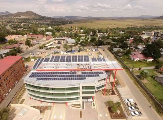 The goal of the Vodacom Head Office building was to minimise its impact on climate change