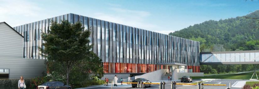 Aurecon completed the civil engineering  and building services for the modern new  Wellington Children's Hospital