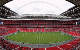 Wembley stadium - the grounds