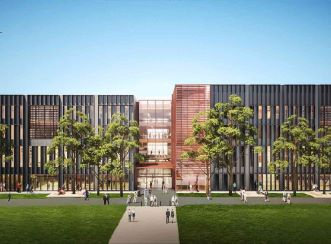 Aurecon is creating this building in line with the University's continued commitment to education innovation. (Image courtesy of Grimshaw Architects)