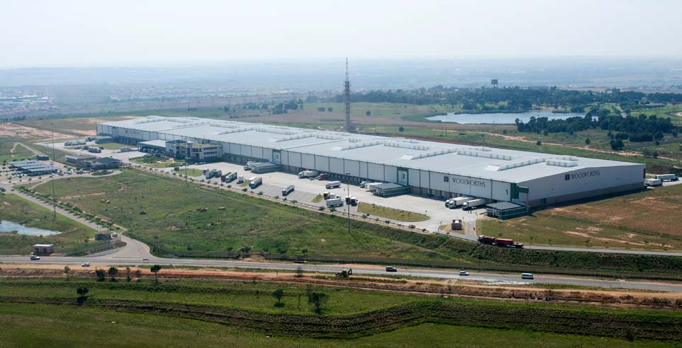 Aurecon - Woolworths Distribution Centre - Gauteng
