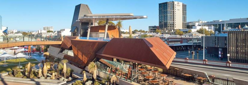 Yagan Square provides connections to locals and visitors to meet, connect and celebrate Western Australian culture. Image Courtesy of Peter Bennetts